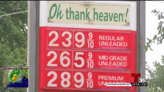 Suben precios de la gasolina en el Metroplex