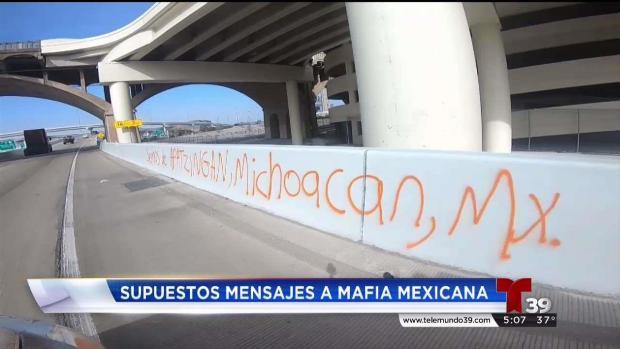 [TLMD - Dallas] Mensajes amenazantes en puentes del Metroplex