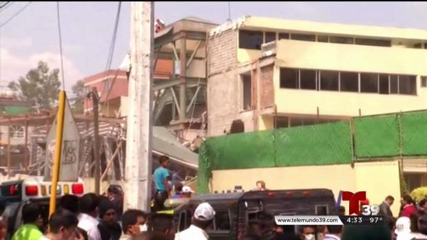 """""""Sociedad Civil"""" primeros en responder tras terremoto"""