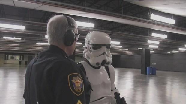 StormTrooper reclutado por policía de Fort Worth
