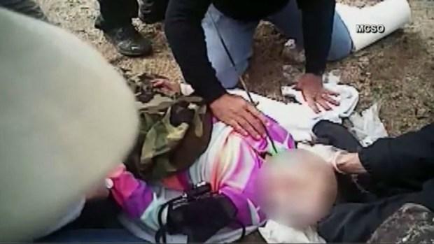 [TLMD - NATL]  Revelan video: niña acaba con flecha clavada en el cuello