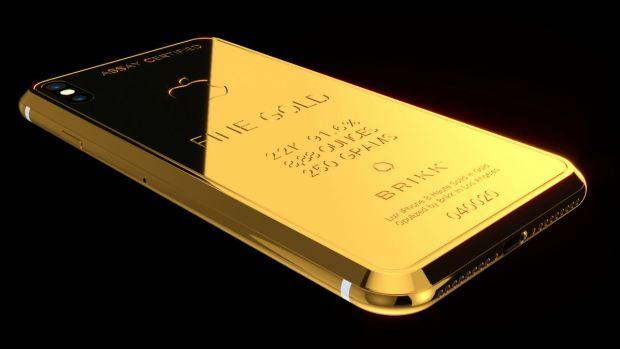 De lujo: el iPhone X de casi $70,000 que no hace Apple