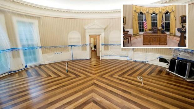 Hasta el techo: la renovación de la Casa Blanca que aprobó Obama