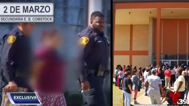 Madre de alumno del DISD terminó detenida