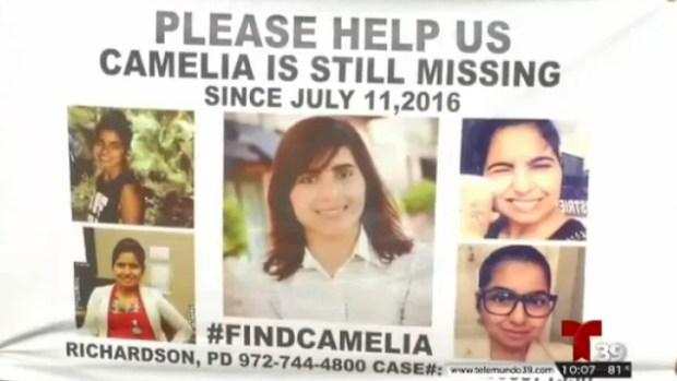 Camelia Perez lleva un año desaparecida