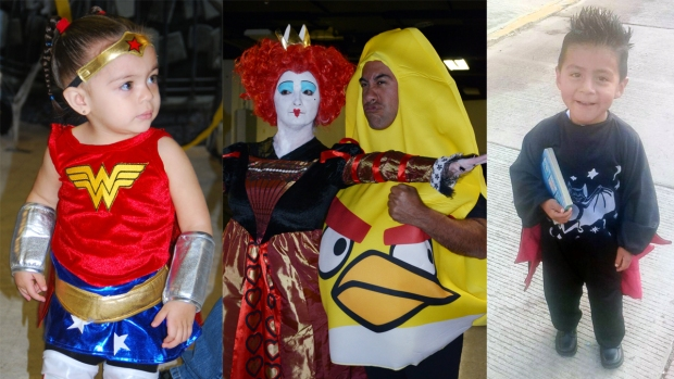 Disfraces de Halloween de usuarios de Telemundo 39