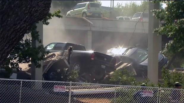 [TLMD - Dallas] Estacionamiento de Irving en riesgo de otro derrumbe