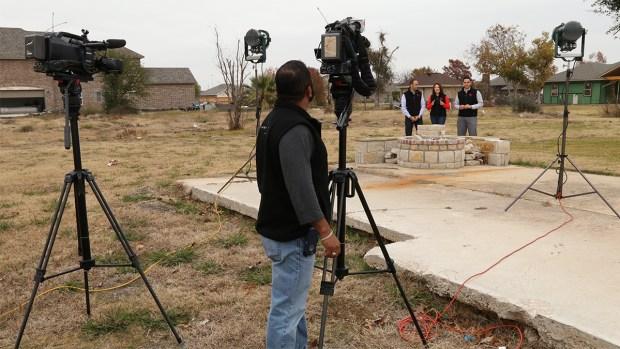 Detrás de cámaras de 'Tornados: Un año después de la tragedia'