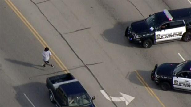[TLMD - Dallas] Persecucion policial en McKinney