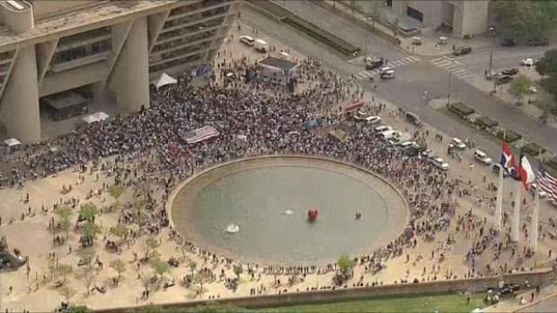 ¿Por qué la Mega Marcha en Dallas no fue multitudinaria?