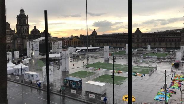Así luce Ciudad de México a horas de la elección presidencial