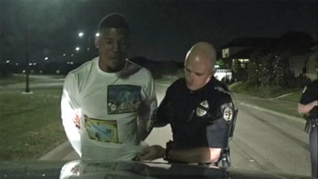 """Video del arresto de un jugador de los """"Dallas Cowboys"""""""