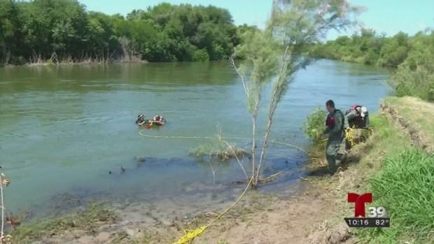 Patrulla Fronteriza entrena en rescates acuáticos