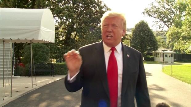 """[TLMD - Houston] """"Haré el anuncio más grande sobre la frontera"""", anuncia el presidente Trump"""