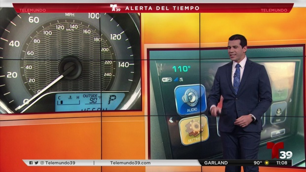 [TLMD - Dallas] Temperaturas registradas por el auto