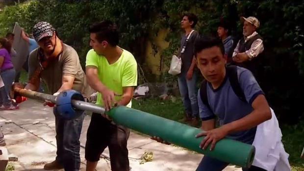 Terremoto en México: El momento de la tragedia