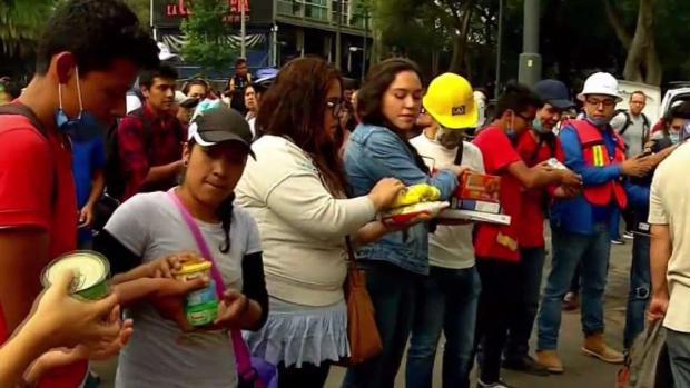 Terremoto en México: Un pueblo solidario