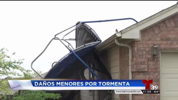 [TLMD - Dallas] Tormentas dejan daños en Haslet