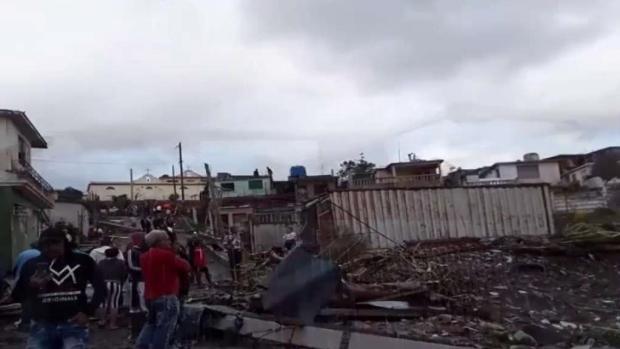 [TLMD - MIA] Tornado deja decenas de heridos y devastación en La Habana