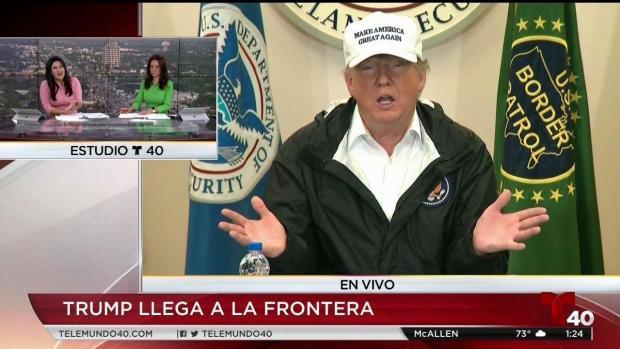 """[TLMD - LV] Trump: """"no dije que México va a darnos un cheque"""""""