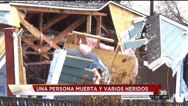 [TLMD - Dallas] Un muerto y 4 heridos tras explotar una casa en Dallas