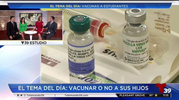 ¿Vacunar o no a sus hijos antes del regreso a clases?