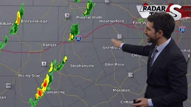 Vigilancia por tornado para el norte de Texas