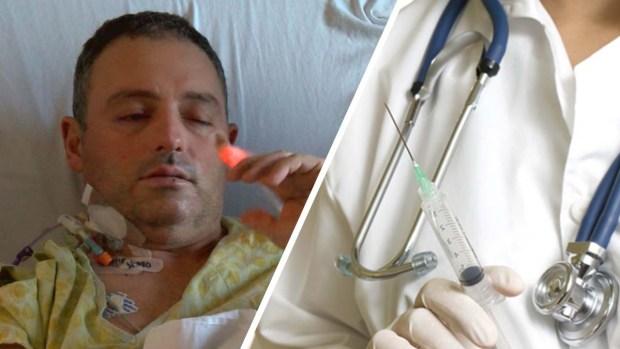Culpa a vacuna contra la gripa por parálisis y ceguera