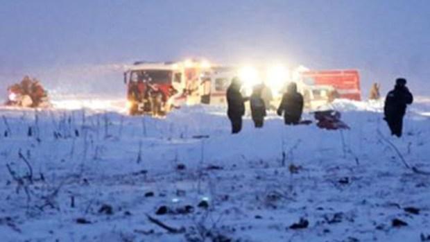 """Tragedia en la nieve: avión """"estalló al tocar tierra"""""""