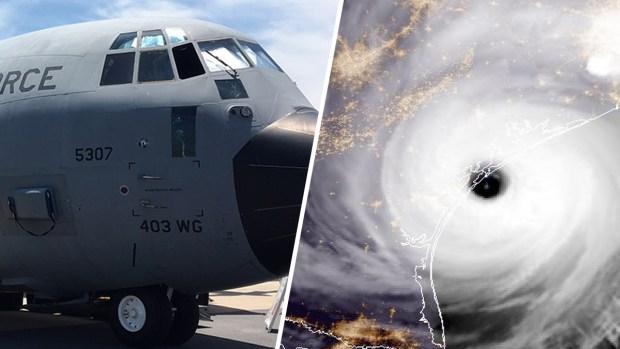 Por dentro: los aviones que se meten en el ojo del huracán