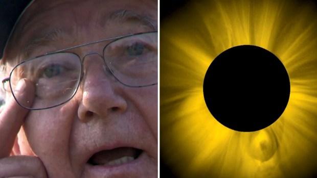 """""""No lo mires"""", advierte hombre que sufrió graves lesiones viendo eclipse"""