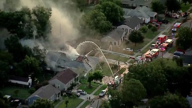 Incendio de una casa en Grand Prairie