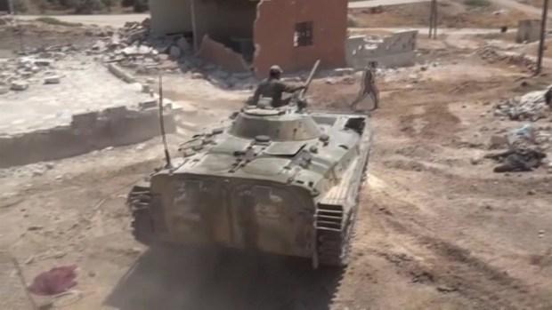[TLMD - LV] A bombazos el régimen sirio expulsa a los rebeldes