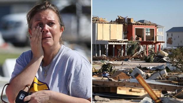 """En fotos: la tormenta Michael causa daños """"apocalípticos"""""""