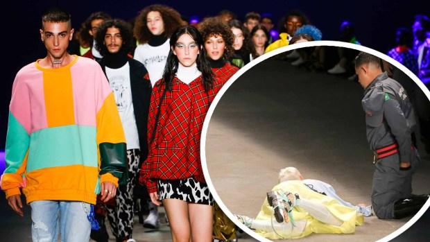 [TLMD - NATL] Modelo muere tras colapsar en pasarela de la Semana de la Moda de Sao Paulo