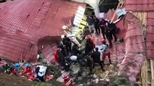 [TLMD - LV] Boda mortal: hotel colapsa en plena celebración