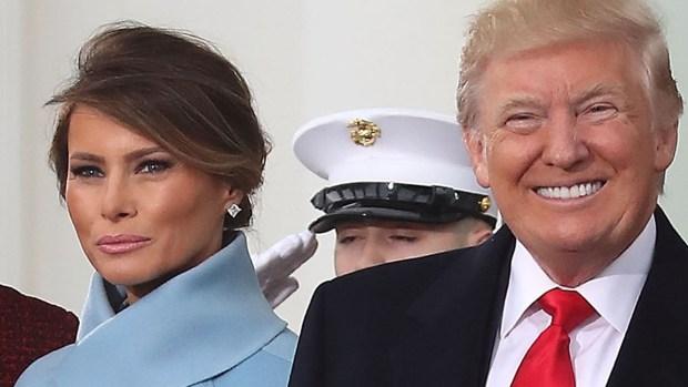 Melania Trump deslumbra con vestido Ralph Lauren hecho a la medida