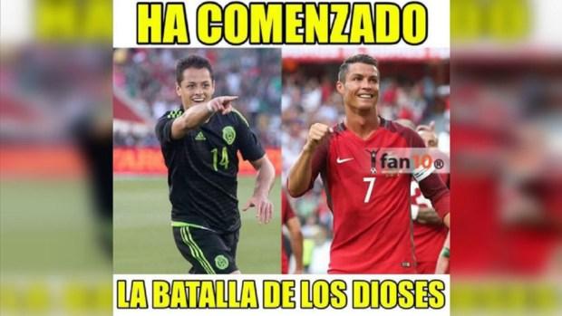 Los mejores memes del debut de México en la Confederaciones