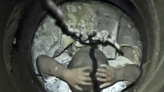 [TLMD - LV] Video: milagroso rescate de pequeño que cayó en un agujero