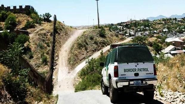 El muro que divide a México y Estados Unidos