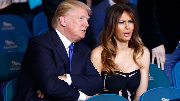 """""""Las señales que da Melania Trump"""" de tomar distancia de su marido"""