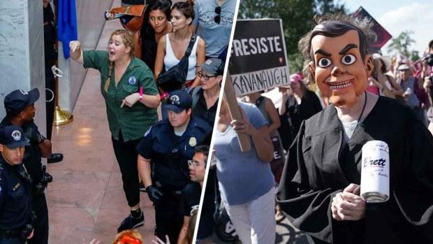 300 arrestos durante protesta contra Kavanaugh; una actriz entre los detenidos