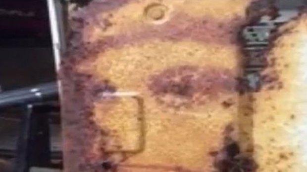 Video: Hombre ve a Jesús en aparato de A/C