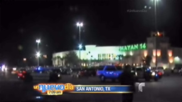 Video: Ataque en un cine de Texas