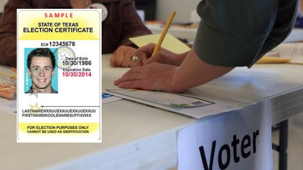 Video: Identificación para votar en Texas