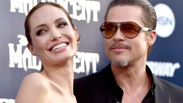 Video: Jolie y Pitt se casaron en Francia