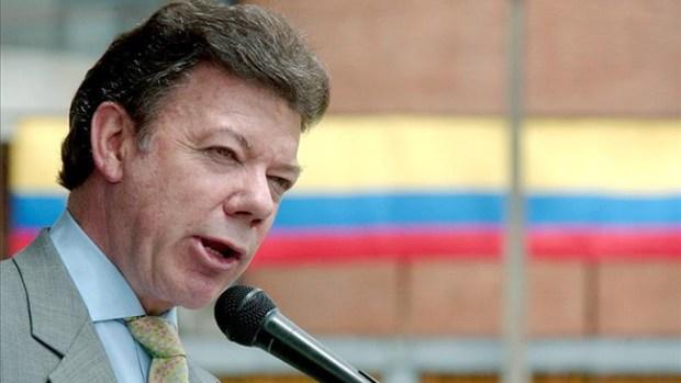 Video: Colombia: Santos quiere educación y paz