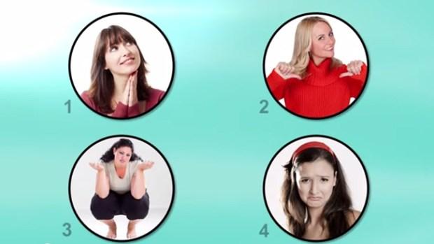 Video: Los 4 tipos de mujeres: ¿tú cuál eres?