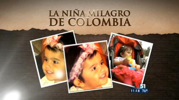 Video: La niña milagro de Colombia
