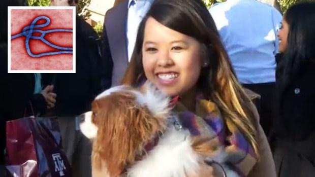 Video: Nina Pham se reúne con su perro